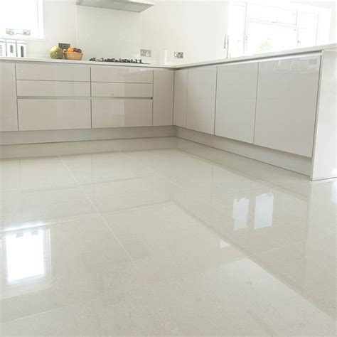 porcelain kitchen floors crown tiles 60x60cm polished ivory porcelain 1588