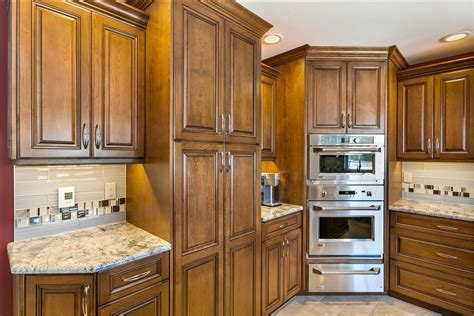 Stunning Cherry Kitchen Brick New Jersey by Design Line