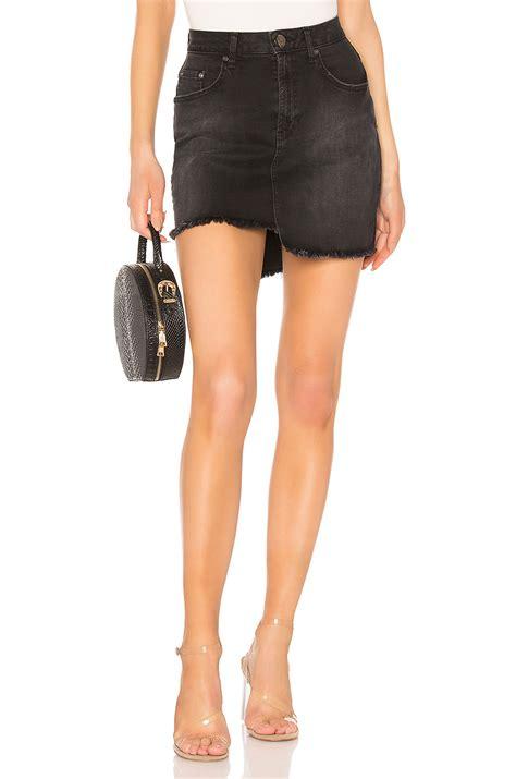 2020 Mini Skirt by One Teaspoon 2020 Mini Skirt In Black Swan Modesens