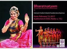 Bharatnatyam A South Indian Classical Dance Performance