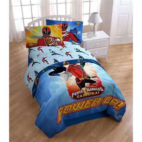 power rangers bedding sheet set kids rooms walmart com