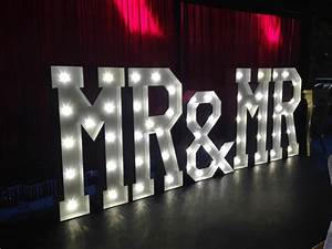 hollywood led letters giant light up letters hire With led letter sign