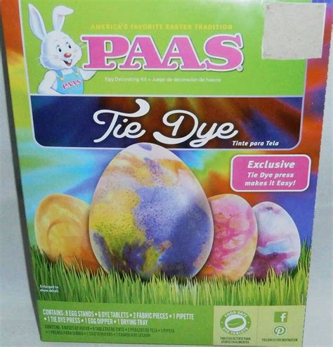 Egg Coloring Kit by Paas Easter Egg Coloring Kit Tie Dye Ebay