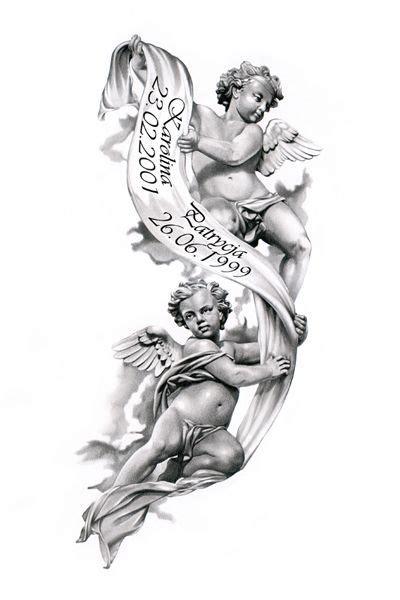angels tattoo design  caper beautiful  passing