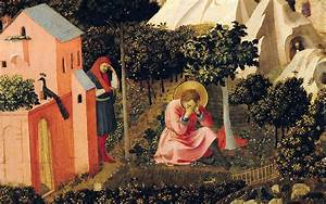 The Conversion Of Saint Augustine Painting by Fra Angelico