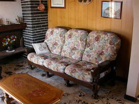 canapé tissus photos canapé bois et tissus