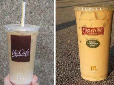 Cool off with our tasty mccafé iced coffee and iced espresso drinks, available in a variety of delicious flavors, including french vanilla, caramel and mocha. Large Iced Caramel Coffee Mcdonalds Calories - Image of Coffee and Tea