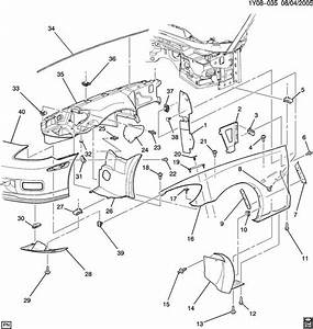 Chevrolet Trailblazer Stud  Bolt  Main Wiring Junction And