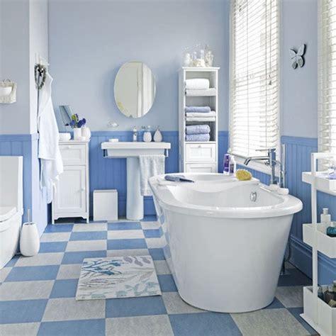 Bathroom Floor Tile Ideas White by Coastal Style Blue And White Floor Tiles Bathroom Tile