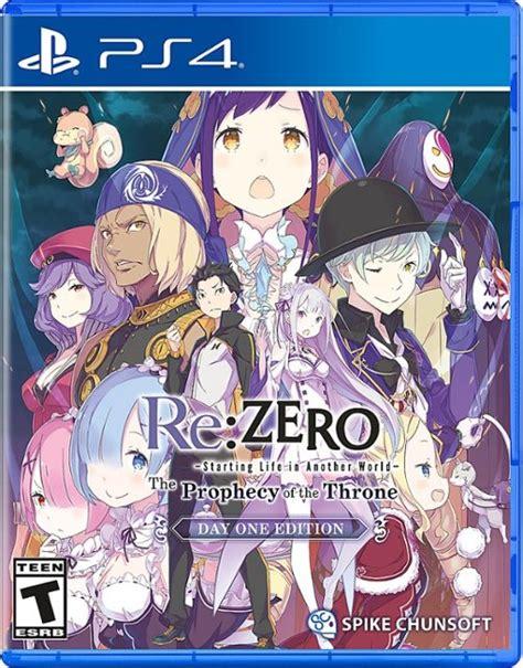 rezero  prophecy   throne day  edition