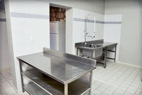 cuisine de collectivite cuisine de collectivité pour une salle des fêtes reynier agenceur