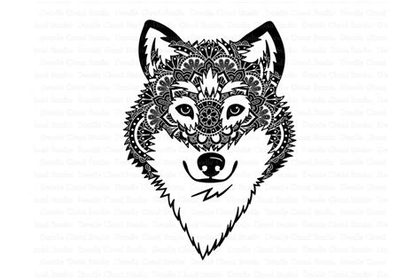 Png, eps, dxf, and svg. Wolf SVG, Wolf Head SVG, Wolf Mandala SVG , Wolf Clipart.