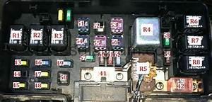 Fuse Box Diagram Honda Accord 1998