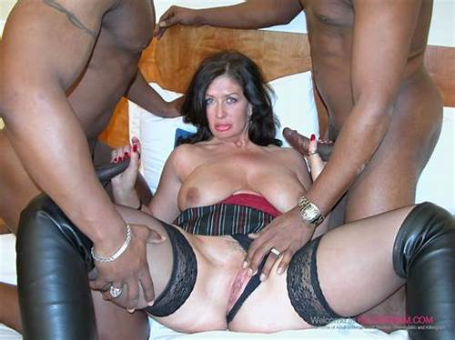 British Old Double Penetrated #Sara #Beattie #Double #Penetrated #In #A #Cuckold #Interracial