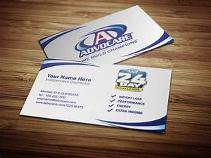 Advocare business cards by tankprints on deviantart for Advocare business card template