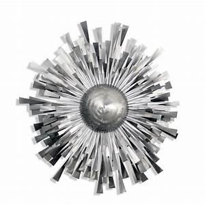 Sculpture Metal Murale : arqitecture feu m tal soleil tableau sculpture ~ Teatrodelosmanantiales.com Idées de Décoration