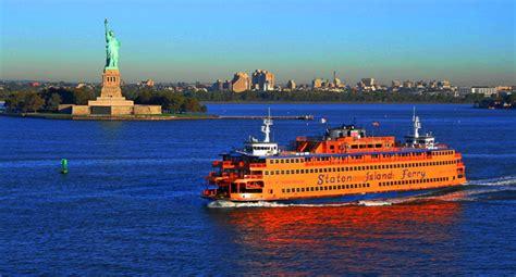 Ferry Boat Ride To Statue Of Liberty by Warum Ist Die Staten Island F 228 Hre Kostenlos New York