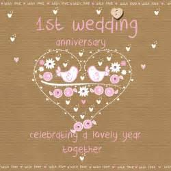 3 year wedding anniversary wedding anniversary card karenza paperie