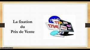 Fixation Prix De Vente
