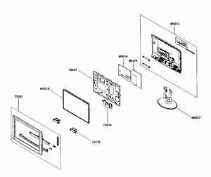 Samsung Model Ln19a330j1dxza Lcd Television Genuine Parts