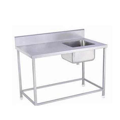 stainless steel kitchen work tables india kitchen stainless steel sink work table at rs 11999