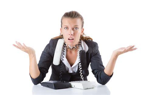 responsabile ufficio responsabile di ufficio grazioso parla sul telefono