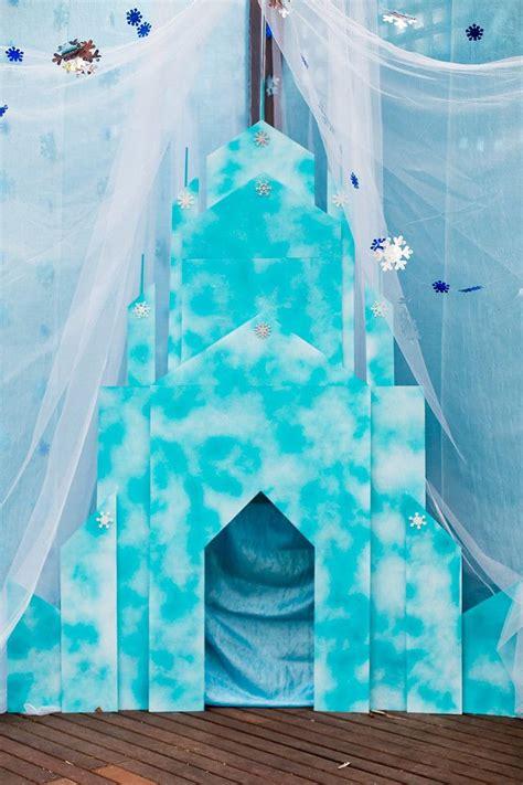 frozen ice castle photo backdrop   frozen birthday