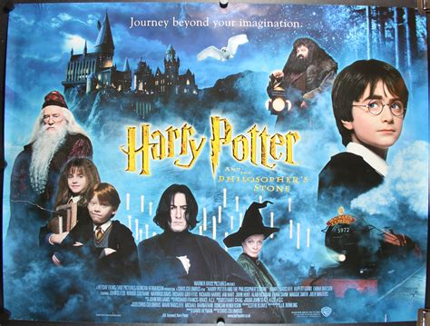 harry poter and the harry potter and the philosopher s original poster