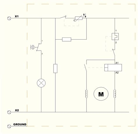 Refrigeration Electrical Schematic