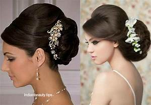 Indian Wedding Bun Hairstyles Pictures HairStyles