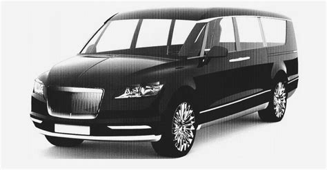 luxury minivan putin 39 s project cortege could give birth to this russian