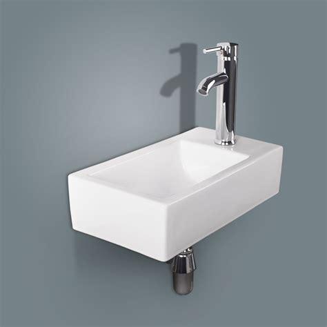 New Modern Bathroom Sinks by White Modern Ceramic Bathroom Vessel Sink Wall Mount
