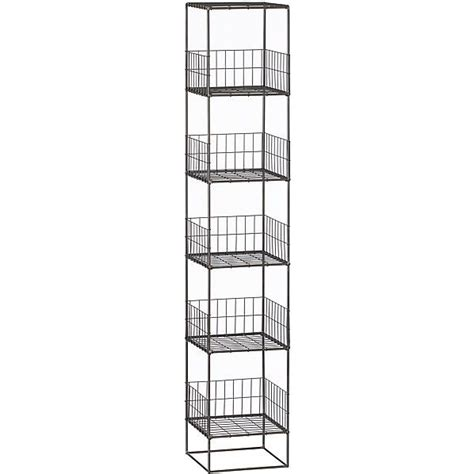 grid storage tower high wire open wire shelves rise