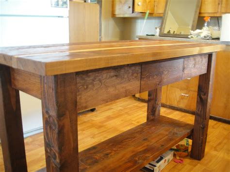 portable kitchen islands white kitchen island from reclaimed wood diy projects