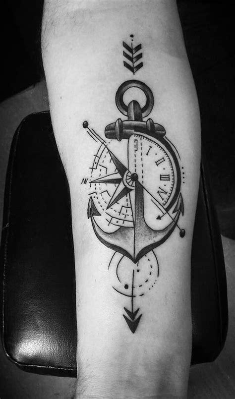 anker kompass kompass bedeutung der motive vorlagen ideen