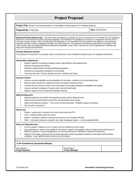 software project proposal examples   ms word