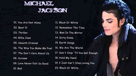 Michael Jackson Best Song by Michael Jackson Greatest Hits Album Best Of