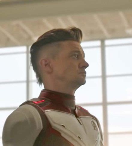 Hawkeye Sports Mohawk Avengers Endgame Here How