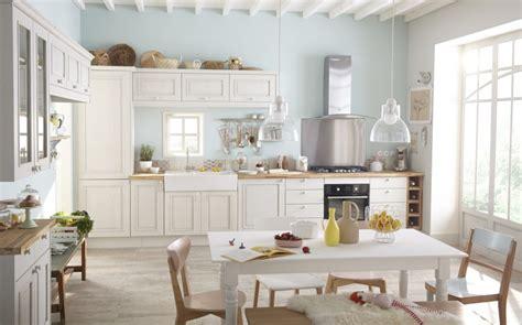 meubles cuisine leroy merlin une cuisine au charme romantique pour toute la famille leroy merlin