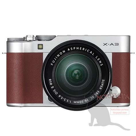 Fuji Xa3 Camera Pictures And Specs Leaked Online *updated