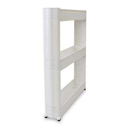 etagere a roulettes cuisine indogate meuble rangement salle de bain ikea