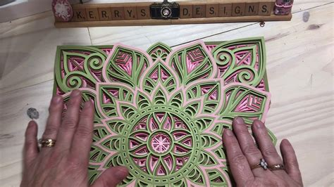 The uniqueness of this design lies in the symmetry of forms and shapes which will give the end. Layered 3D Layered Cross Mandala Svg Free Project ...