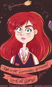 Ginny Weasley (With images)   Ginny weasley, Cartoon, Weasley