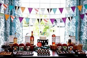 Fiesta para hombres inspirada en el Whisky Ideas y material gratis para fiestas y