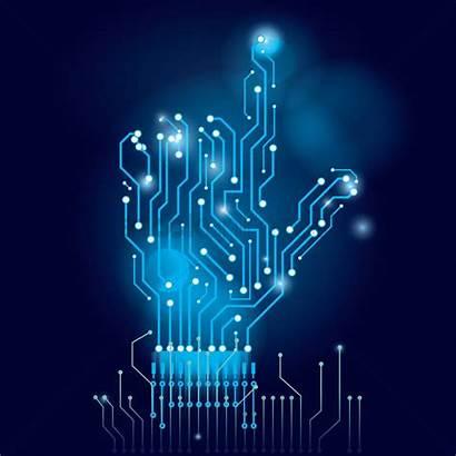 Circuit Electronic Wallpapers Board Hand Electronics Vector