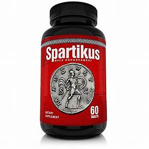 Spartikus All Natural Male Enhancement Sex Pills  U2013 Time  Stamina  Girth And Testosterone Booster