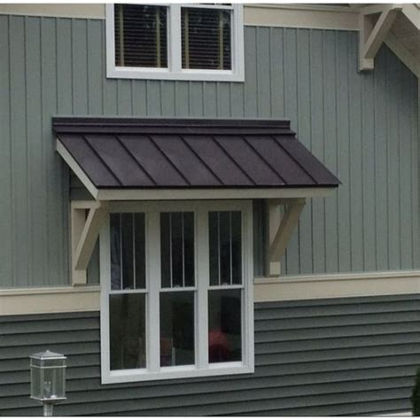 exterior window awning  mobile home roofing mobile home exteriors metal awnings