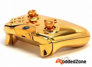 QuotGOLDENquot XBOX ONE MODDED CONTROLLER