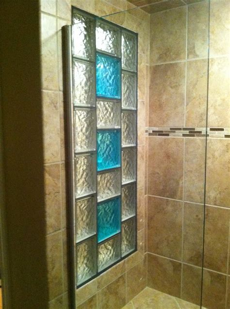 decorative ideas for bathrooms decorative glass block borders for a shower wall or windows