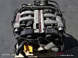 Jdm Nissan Vg30dett Engine Twin Turbo 300zx Z32 Vg30de Vg30 Tt